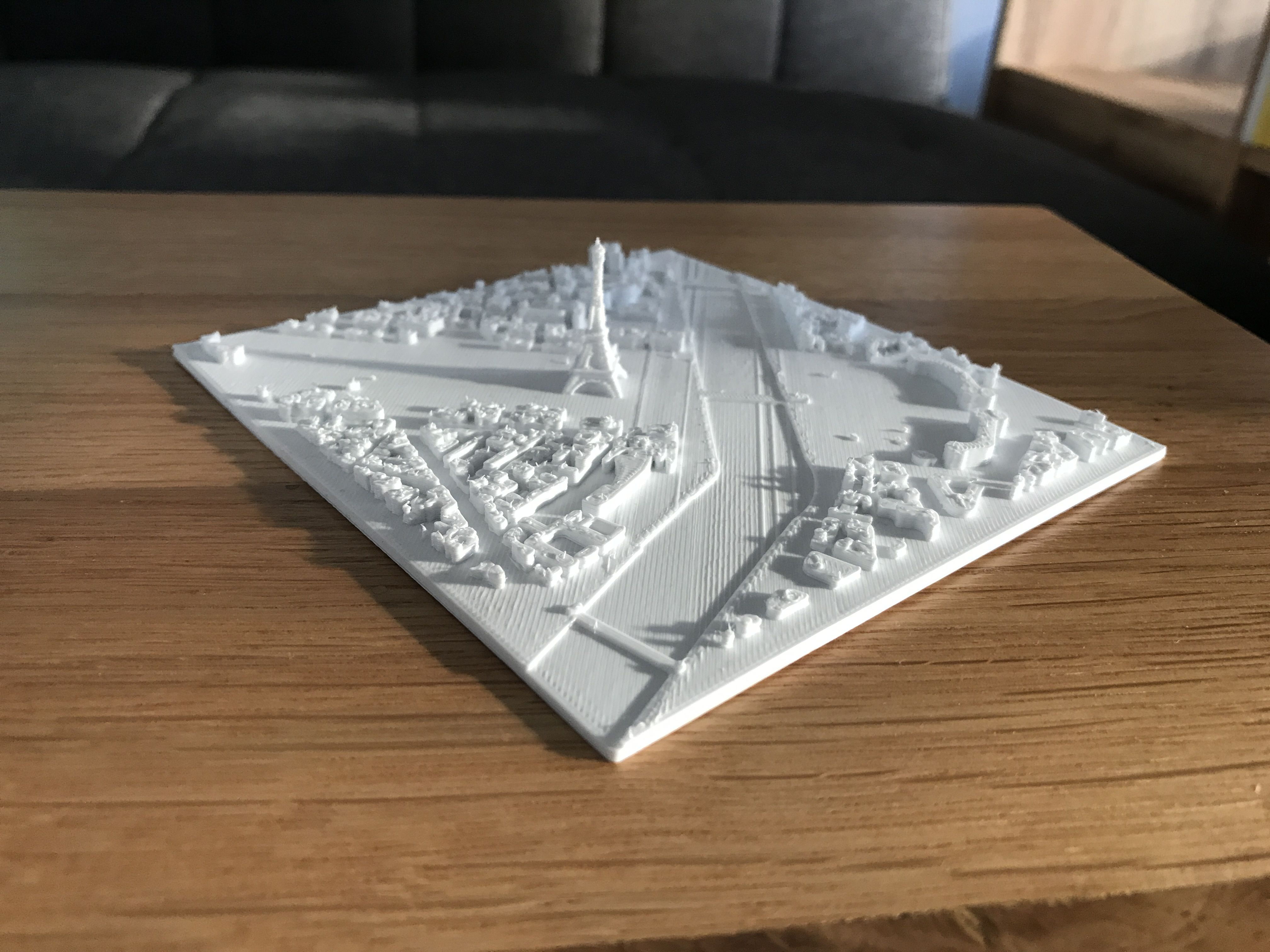 IMG_6100.jpg Download STL file Eiffel Tower - Paris City • 3D printing object, mithreed