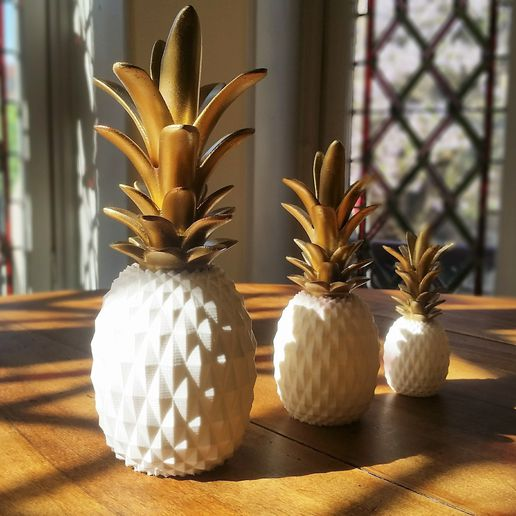 20170515_094944.jpg Download STL file PINEAPPLE • 3D print template, BOUTIN