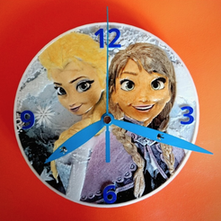 Capture d'écran 2018-04-16 à 12.30.53.png Download free STL file FROZEN 3D Clock • 3D printable model, 3dlito
