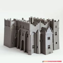 01.jpg Download STL file Medieval-renaissance castle - no supports needed • 3D printable model, euroreprap_eu