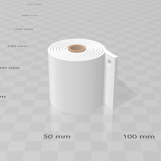3D Builder 25_4_2020 21_42_55.png Download free 3MF file Key chain toilet paper • Design to 3D print, luchoalbizu