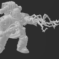 Librarian-1.png Download free STL file Heresy Space Psychic in MK2 Armour • Template to 3D print, codewalrus