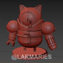 0010.jpg Download STL file FALL GUYS WHIT SKIN / Roboto Kitty • 3D printer model, Larmaries