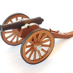 C-Cannon01.jpg Download free STL file Civil War Cannon • 3D printable object, pdasher