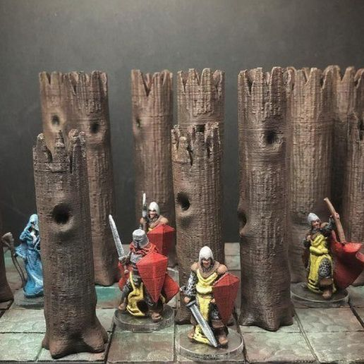 bdc541a9cf9cc73199ef67fc38c3db20_preview_featured.jpg Download free STL file Z.O.D. Accursed Wood (28mm/Heroic scale) • 3D printer object, Dutchmogul