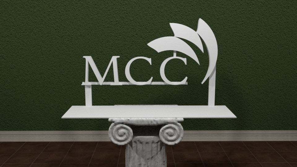 MCC.jpg Download free STL file McHenry County College Logo • 3D printing template, AwesomeA