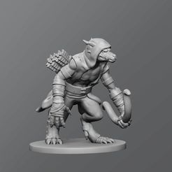 f43a3a9680f1a6d71b91db0533cd1e6f_display_large.jpg Download free STL file Kobold Skirmisher • 3D printing template, schlossbauer