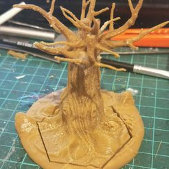 IMG_20190526_082036.jpg Download free STL file Adaptable Detailed Dead Tree • 3D printing template, CaptainFathom