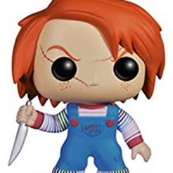 Chucky-FunkoPop.png Download STL file Funko Pop Chucky Cookie Cutter • 3D printable model, phillya