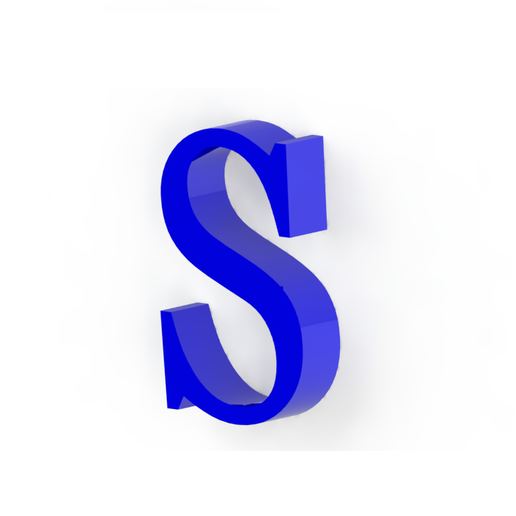 S3.png Download free STL file Letras / abecedario completo • Object to 3D print, Lubal