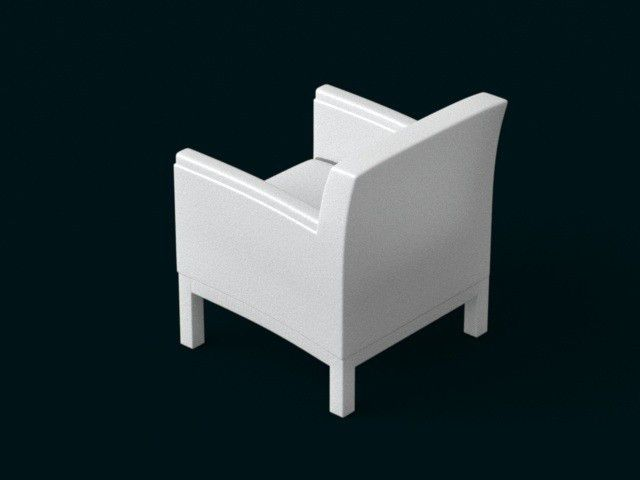 04.jpg Download file 1:10 Scale Model - ArmChair 03 • 3D printer object, sidnaique