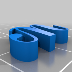 thing.png Download free STL file 3d letters font numbers stl • Object to 3D print, gaevskiiy