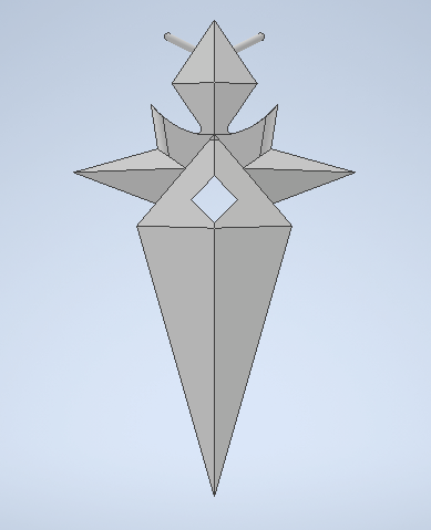Necklace.png Download STL file Genshin Impact Thoma Accessories • 3D printer template, letruongson
