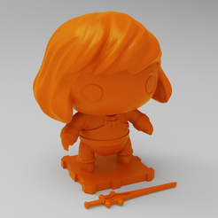 HEMAN4SQ.png Download free STL file He-Man (Masters of the Universe) • Design to 3D print, purakito