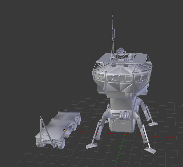 sentryhut.png Download free STL file Mobile Sentry Station • 3D print object, SmallRobotsInAContainer