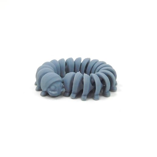 millipede_4.jpg Download free STL file Milli: Print in place, support free,articulated millipede • Object to 3D print, loubie