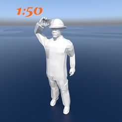 bombero3.jpg Download STL file firefighter • 3D print object, 3diego