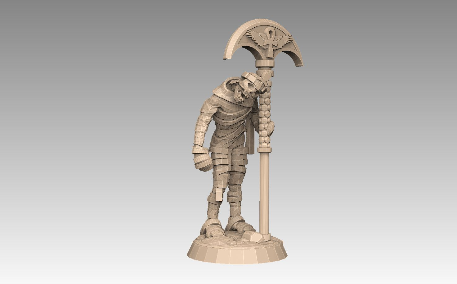 mh2-prom1c.jpg Download STL file Mummy Pack 1 • 3D printing object, SharedogMiniatures