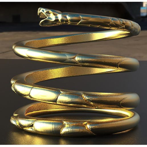 Don't tread on me ring insta 11.jpg Download file Snake ring • 3D print template, plasmeo3d