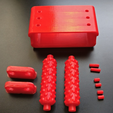 Capture d'écran 2017-11-28 à 18.39.35.png Download STL file Massage roller for hand (supportless) • 3D printing template, xTremePower