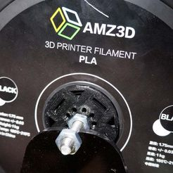 DSC09407.JPG Download free STL file AMZ3D PLA spool hub • Model to 3D print, mpkottawa