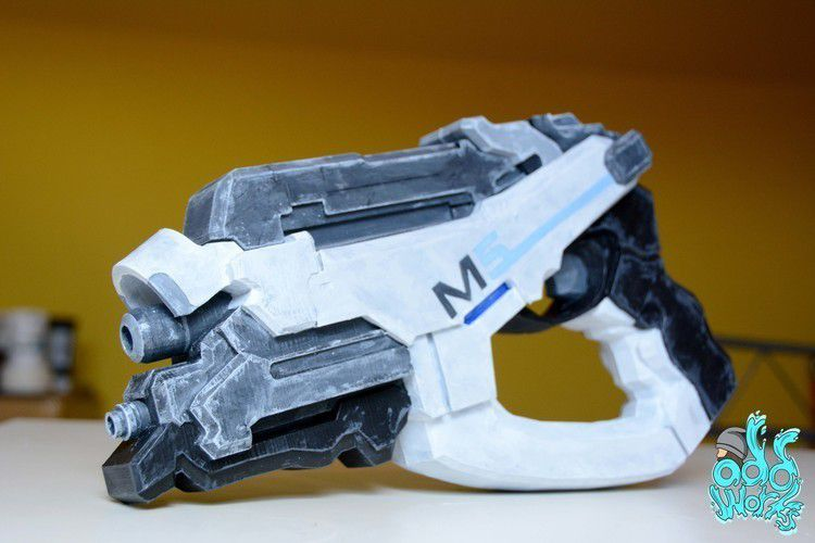 container_mass-effect-m5-phalanx-3d-printing-145236.JPG Download free STL file mass effect M5 phalanx pistol • 3D printable object, OddWorks