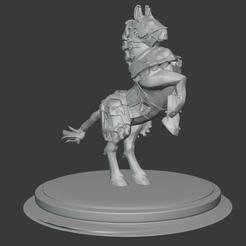 horse.PNG Download free STL file Anduin Wrynn's Horse • 3D print model, hertelandrey