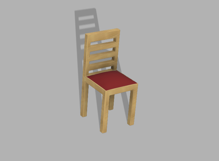 Silla en color.png Download free GCODE file Miniature chair • 3D printing model, JoWrTeR