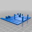Support_F411_wse_-_Volantex_1.png Download free STL file Volantex Ranger G2 - Soporte FC y GPS (F411 WSE + BN220) • 3D printing object, Afterhender