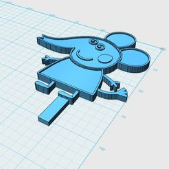 Emily-Elephant_preview.jpg Download STL file Emily Elephant cupcake topper • 3D printer template, Redfusion858
