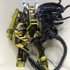 ed347c46bb962fc9bfd81c1bdce96fd0_display_large.jpg Download free STL file DIY Alien vs. Power Loader fight with LED lights • 3D printer object, OneIdMONstr