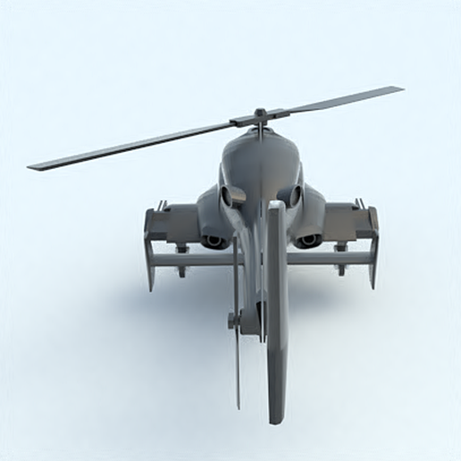 10.png Download STL file Airwolf • 3D printing template, 3Diego