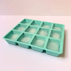 IMG-0093.jpg Download free STL file Ice cube tray - Fridge - Ice cube - Home - Cocktail • 3D printing template, SolutionsDesign