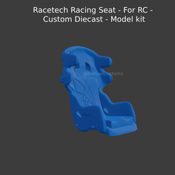 New-Project-2021-05-31T133836.553.png Download STL file Racetech Racing Seat - For RC - Custom Diecast - Model kit • 3D printing template, ditomaso147