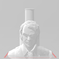 jok.png Download free STL file Joker Mouthpiece • 3D printing model, Pistacho