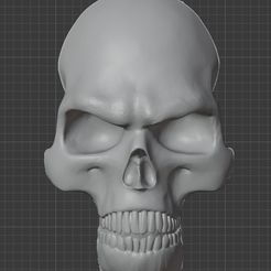 4duxbwfTJHY.jpg Download STL file DMC - Devil May Cry skull on Dante's back • 3D printable template, e4ngel