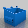 Garbage_Dumpster.png Download free STL file Garbage truck dumpster with lids • 3D printable object, Simple_Designs
