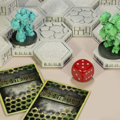 mainstripcompositionnocardssqr.jpg Download free STL file Open Board Game. Double Stack Brick • 3D printable object, ThinkerThing