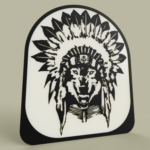Loup_indien_2019-May-12_09-06-55PM-000_CustomizedView17119281230.png Download free STL file Indian wolf • 3D print object, yb__magiic