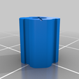 Base.png Download free STL file Dowel Locking Puzzle • Object to 3D print, mtairymd
