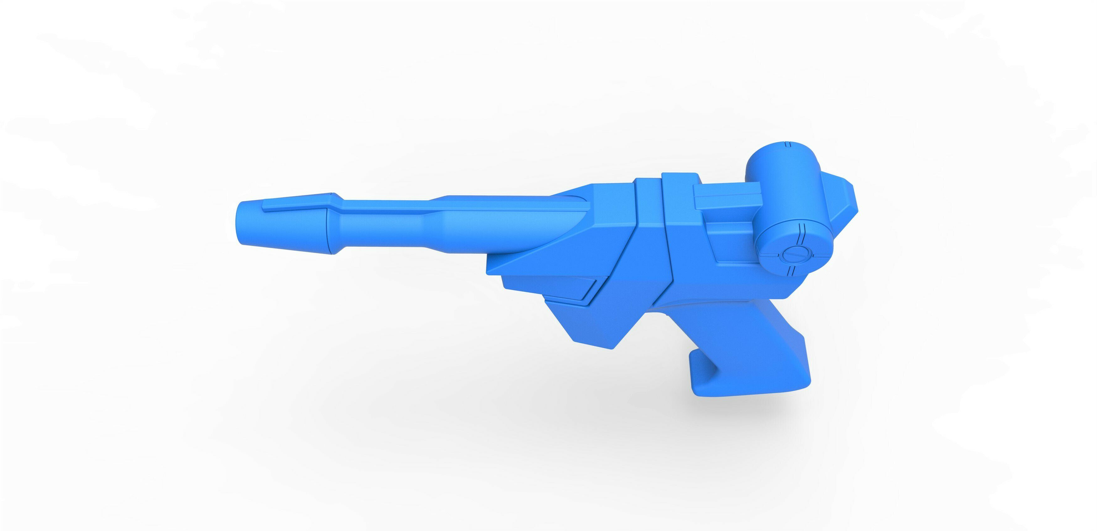 56.jpg Download STL file Earth Defense Directorate Blaster from Buck Rogers in the 25th Century TV series • 3D printable object, CosplayItemsRock