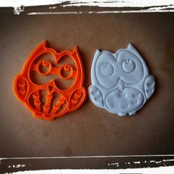 WhatsApp Image 2018-08-17 at 11.17.49.jpeg Download STL file buho cookie cutter, owl cookies cutter • Design to 3D print, abauerenator