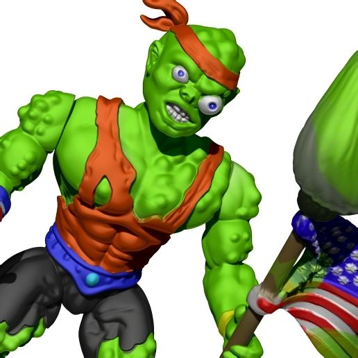 toxie3.jpg Download STL file TOXIE - TOXIC CRADERS • 3D printer model, ALTRESDE