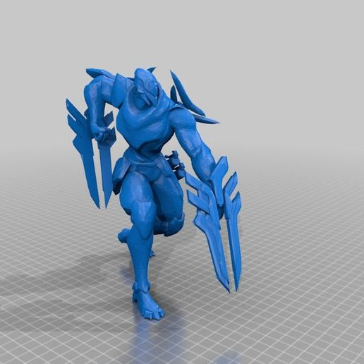 bdf595cd2dd773d626d69dc3ac9767e3.png Download free STL file League of Legends Champion and Skin Collection • 3D printing object, MateoCG3D