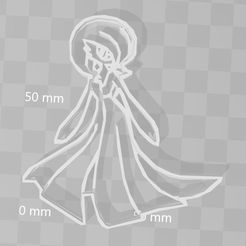 gardevoir.JPG Download STL file gardevoire pokemon cookie cutter • 3D printable object, PrintCraft