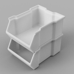 Capture d'écran 2016-10-20 à 15.41.19.png Download free STL file Stackable Box (Thicker Version) • 3D printer object, DENOVATOR
