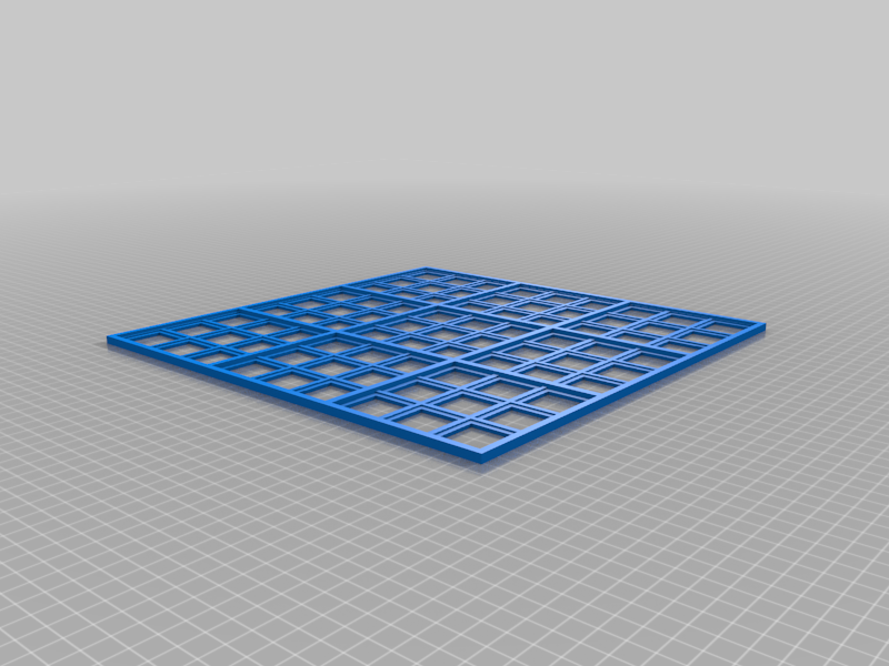 Sudoku_300_x_300_with_Starter_Grid_-_Board.png Download free 3MF file Sudoku for the Visually Impaired • Object to 3D print, benebrady