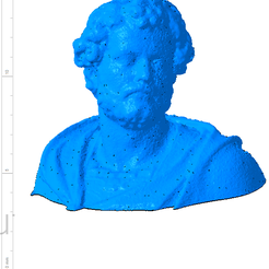 Annibal 001.png Download free OBJ file Bust of the statue of Hannibal Slodtz Atelier Des Lumiers museum • Object to 3D print, Or10m4