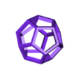 Hollow_Dodecahedron.stl Download free STL file Dodecahedron 2020 calendar • 3D print template, paulsroom