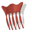 female-braid-hair-comb-08-v12-06.png Download STL file FRENCH PLEAT HAIR COMB Multi purpose Female Style Braiding Tool hair styling roller braid accessories for girl headdress weaving fbh-08C 3d print cnc • 3D printing template, Dzusto